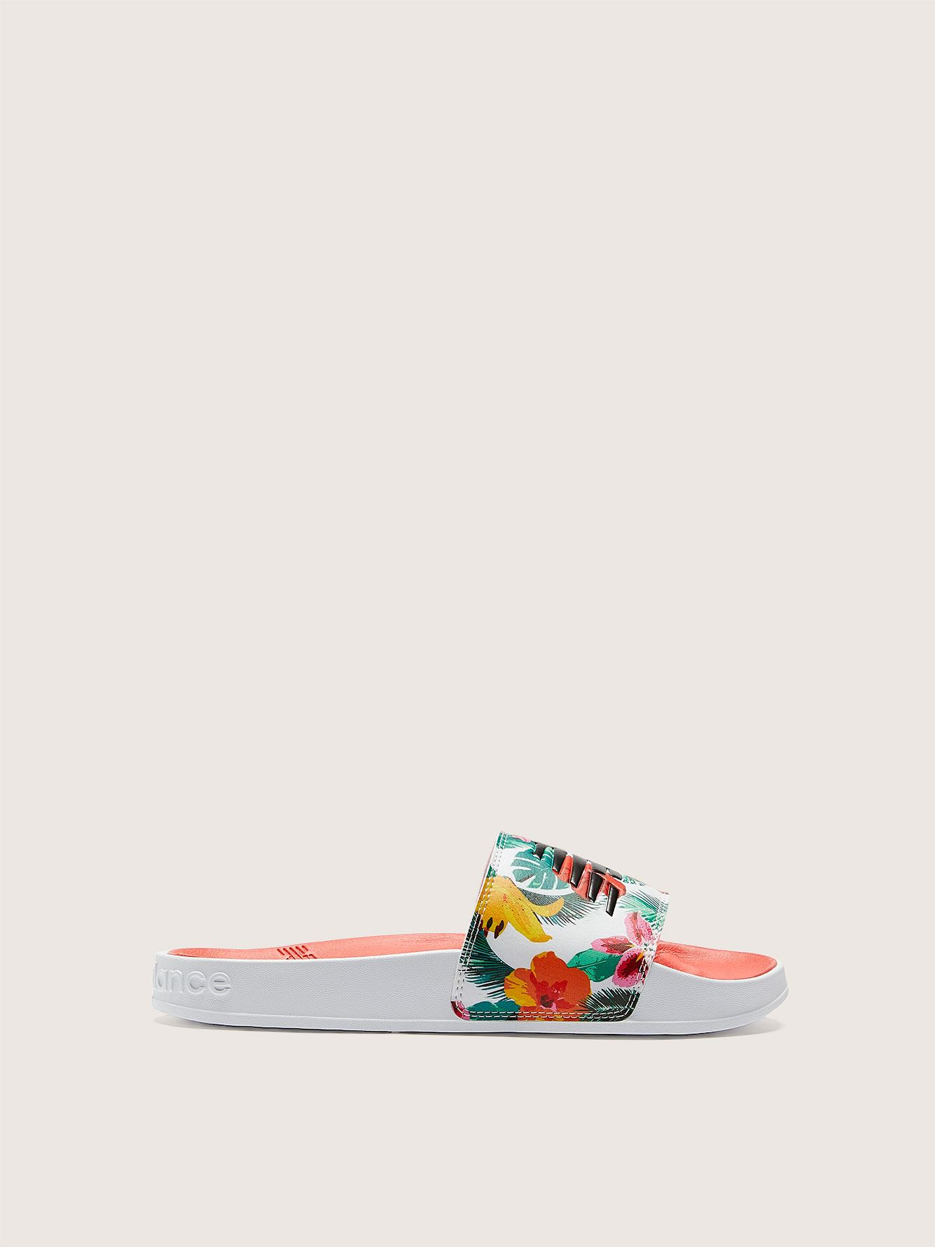 Printed Pool Slide Sandal - New Balance