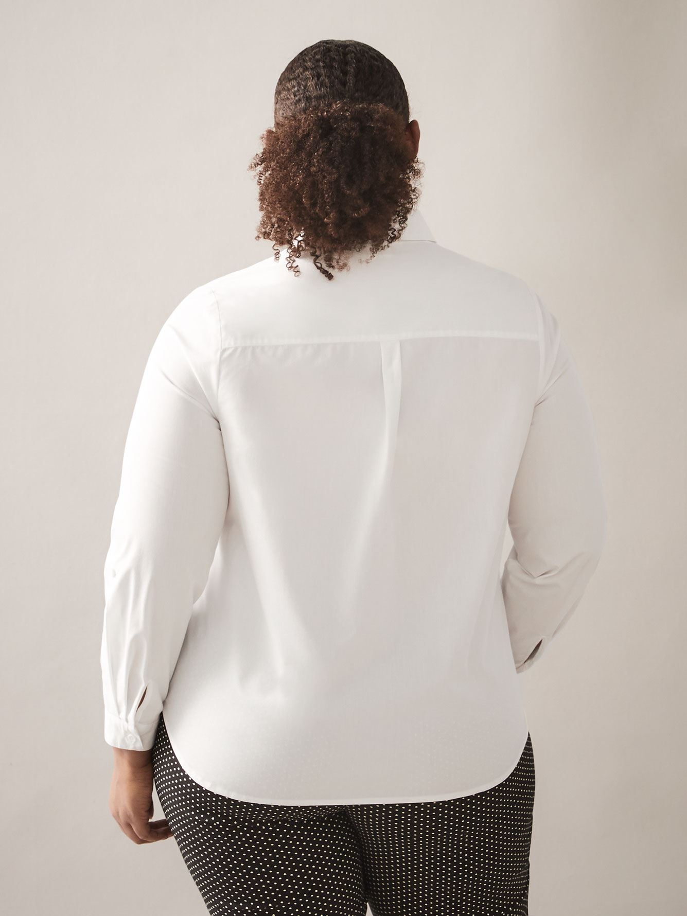 Blouse poplin structurée - In Every Story