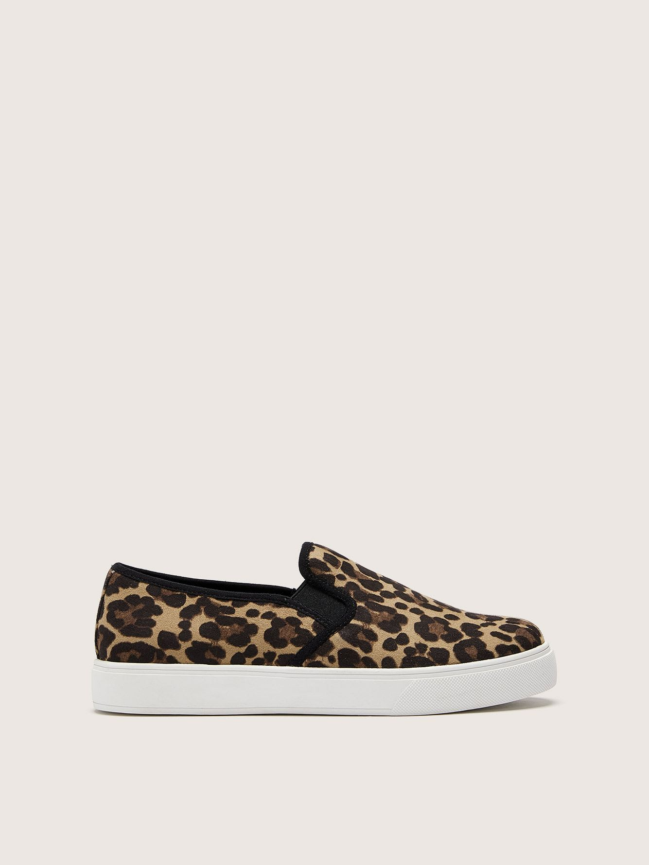 Wide Width Leopard Slip On Sneakers - In Every Story