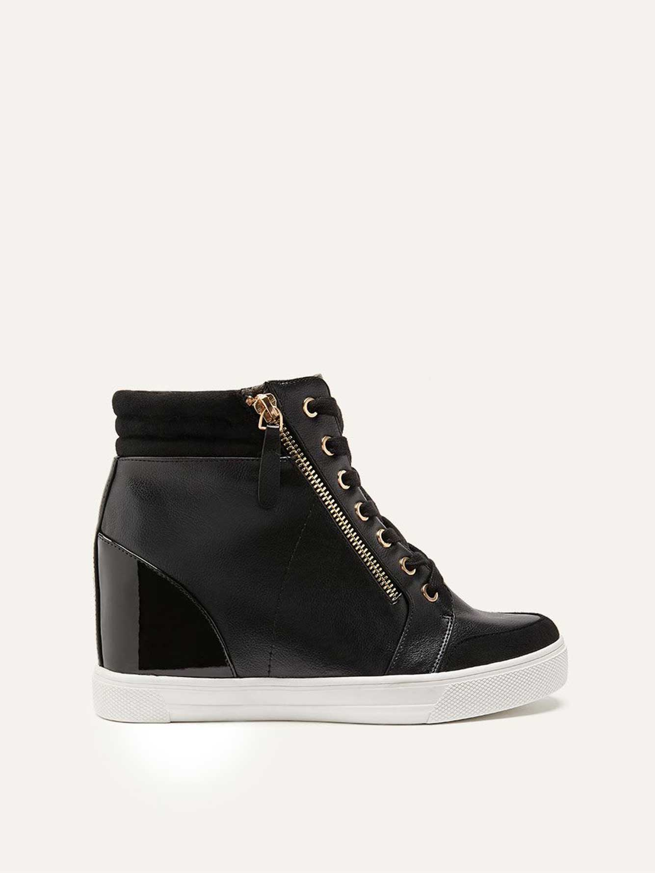 Wide Wedge Sneakers