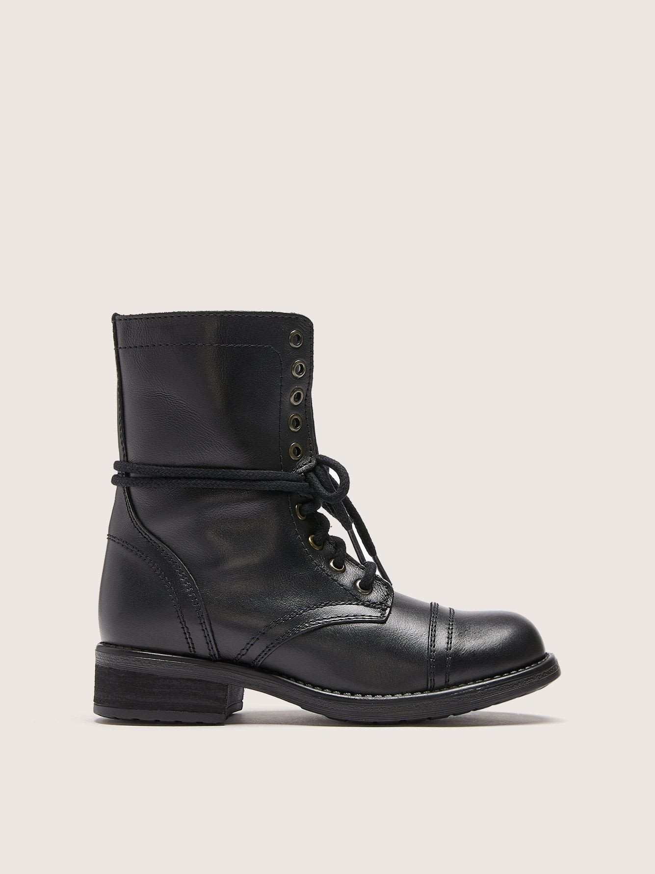 Bottillons Military, pieds larges - Steve Madden