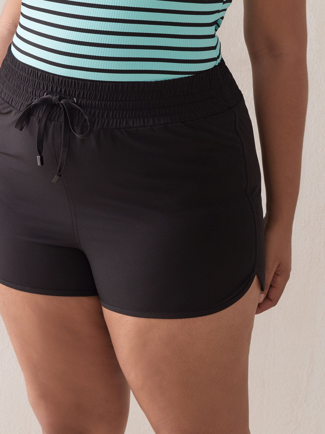 Swim Short with Drawcord - Addition Elle