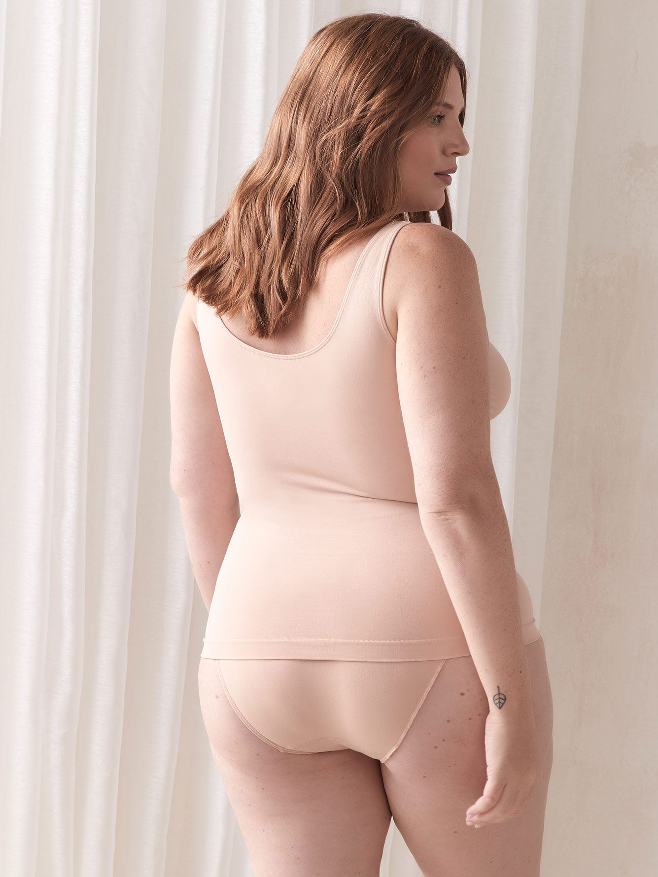 Seamless Shapewear Tank Top - Addition Elle