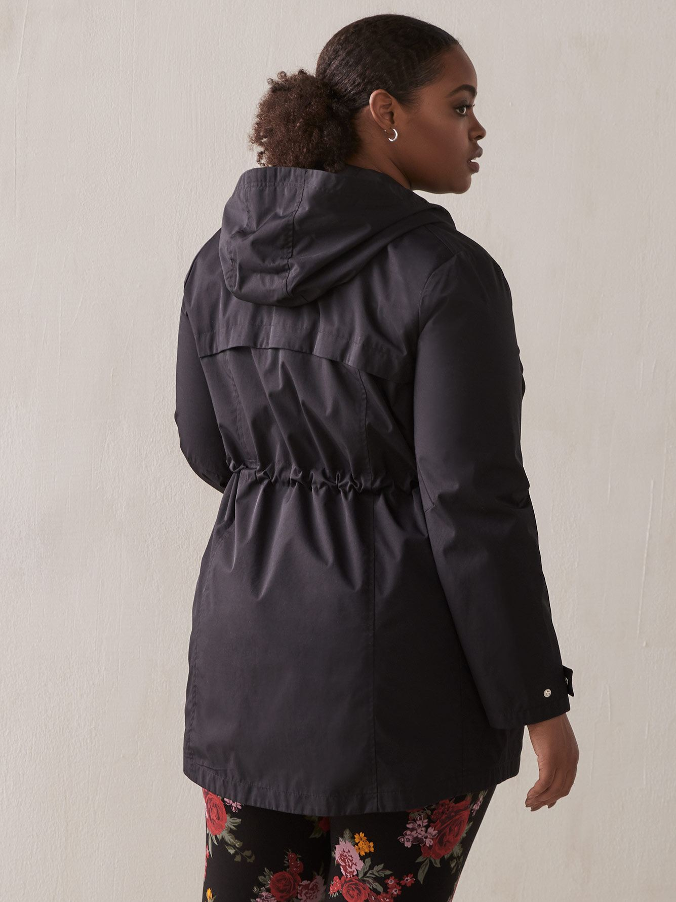 Twill Hooded Rain Jacket - In Every Story