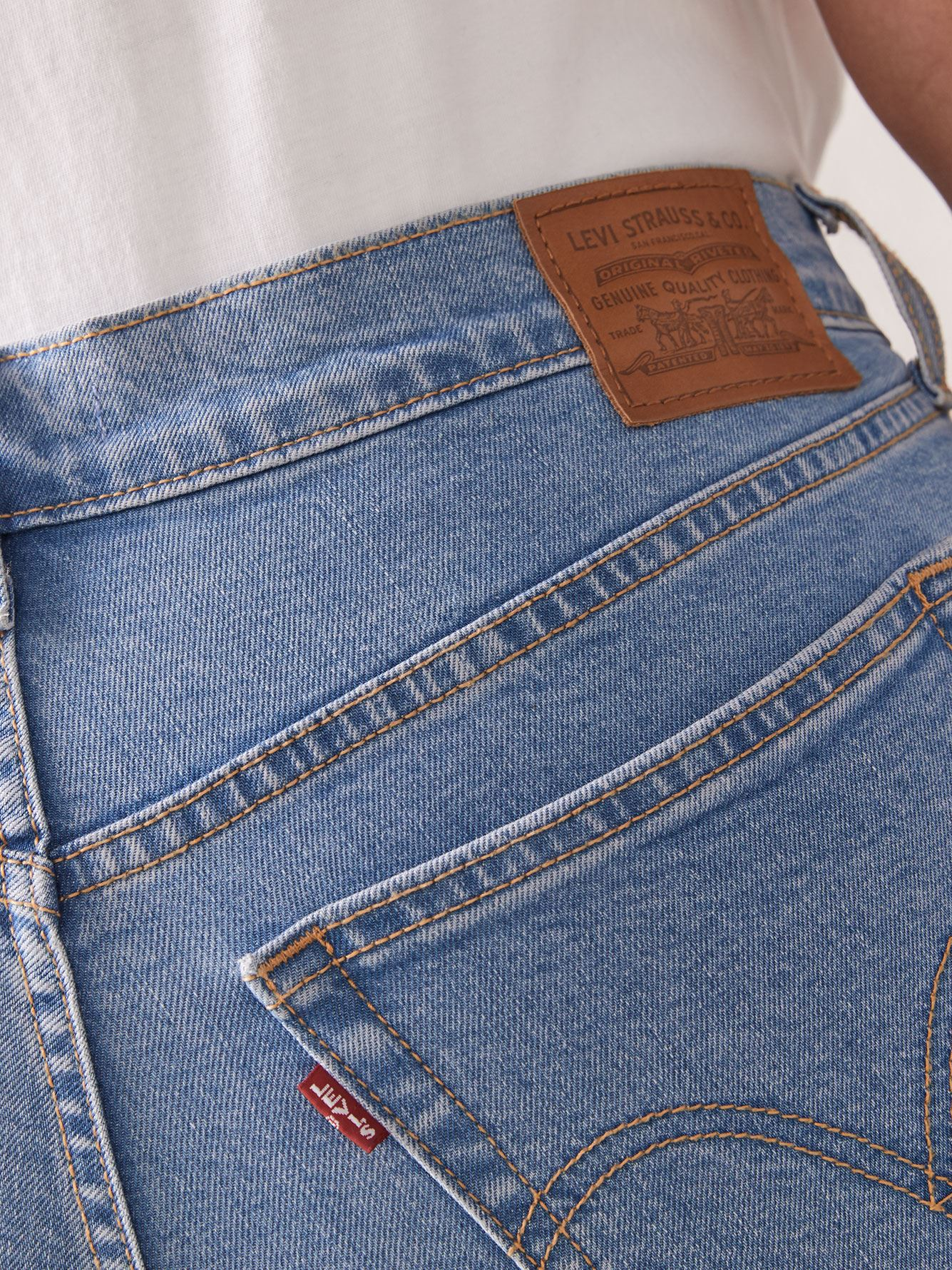 Stretchy High-Rise Wedgie Skinny Ankle Length Jean - Levi's Premium