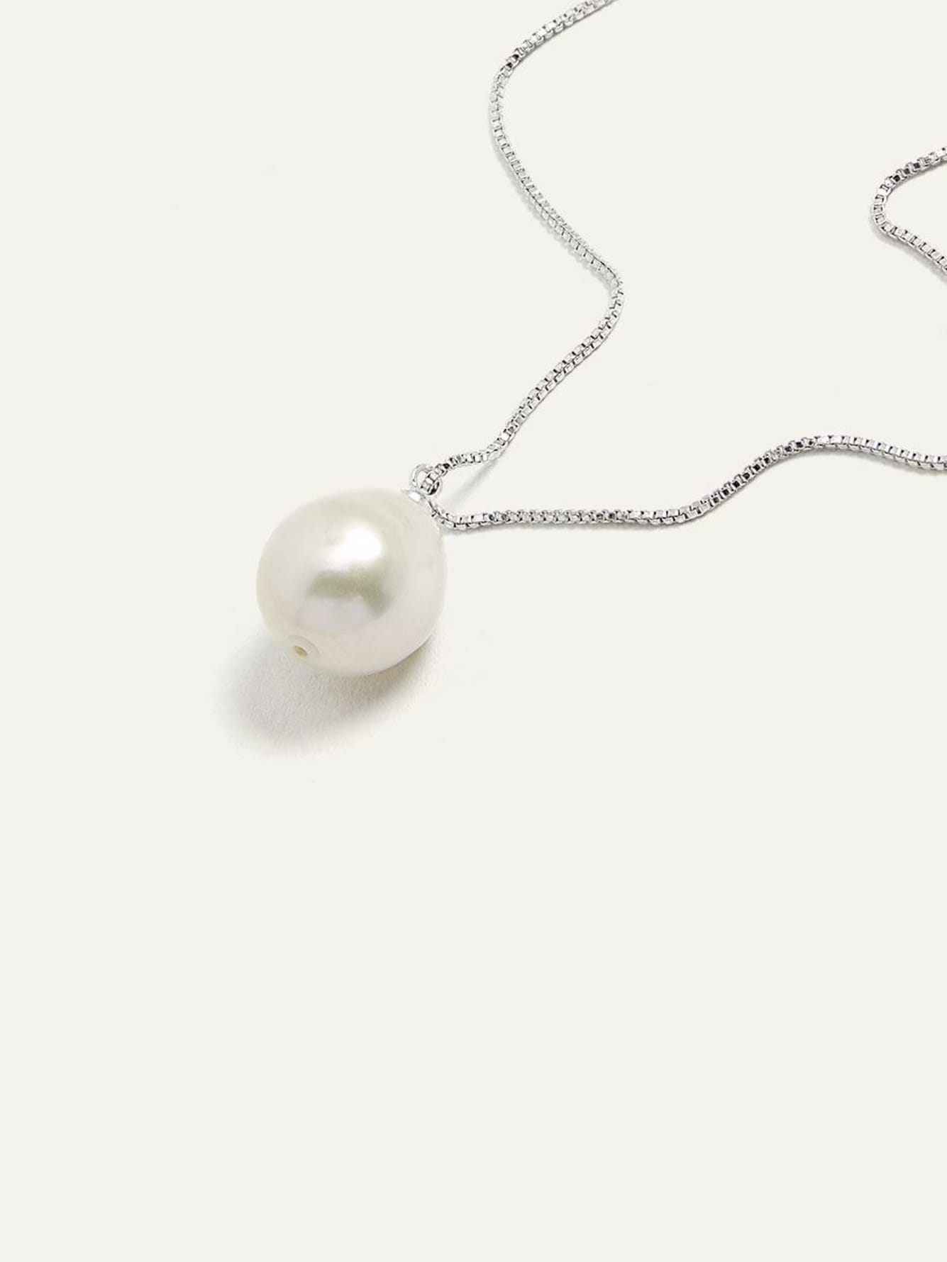 Pearl Pendant Necklace - Pilgrim