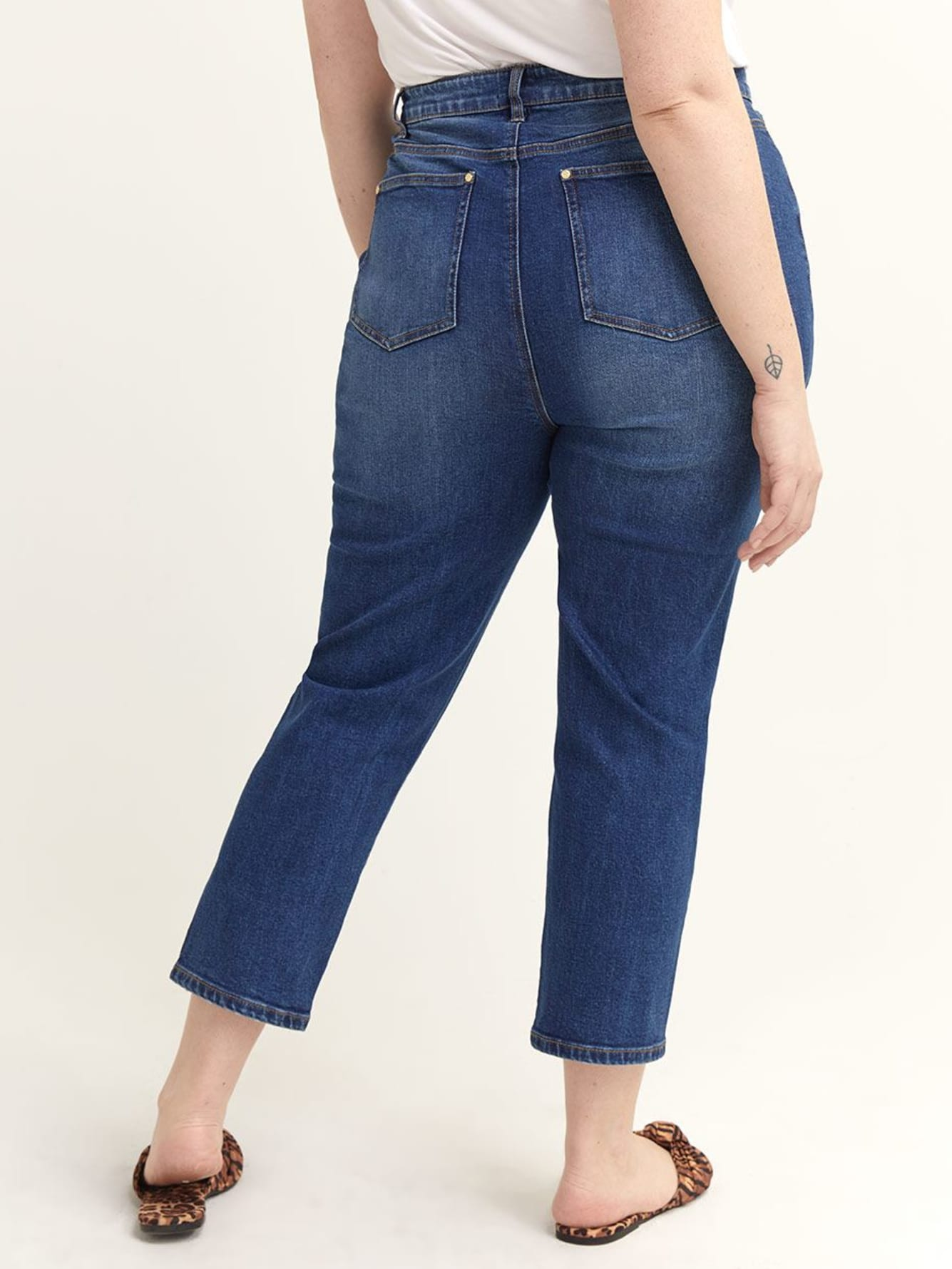 Cropped Jean with Slim Leg