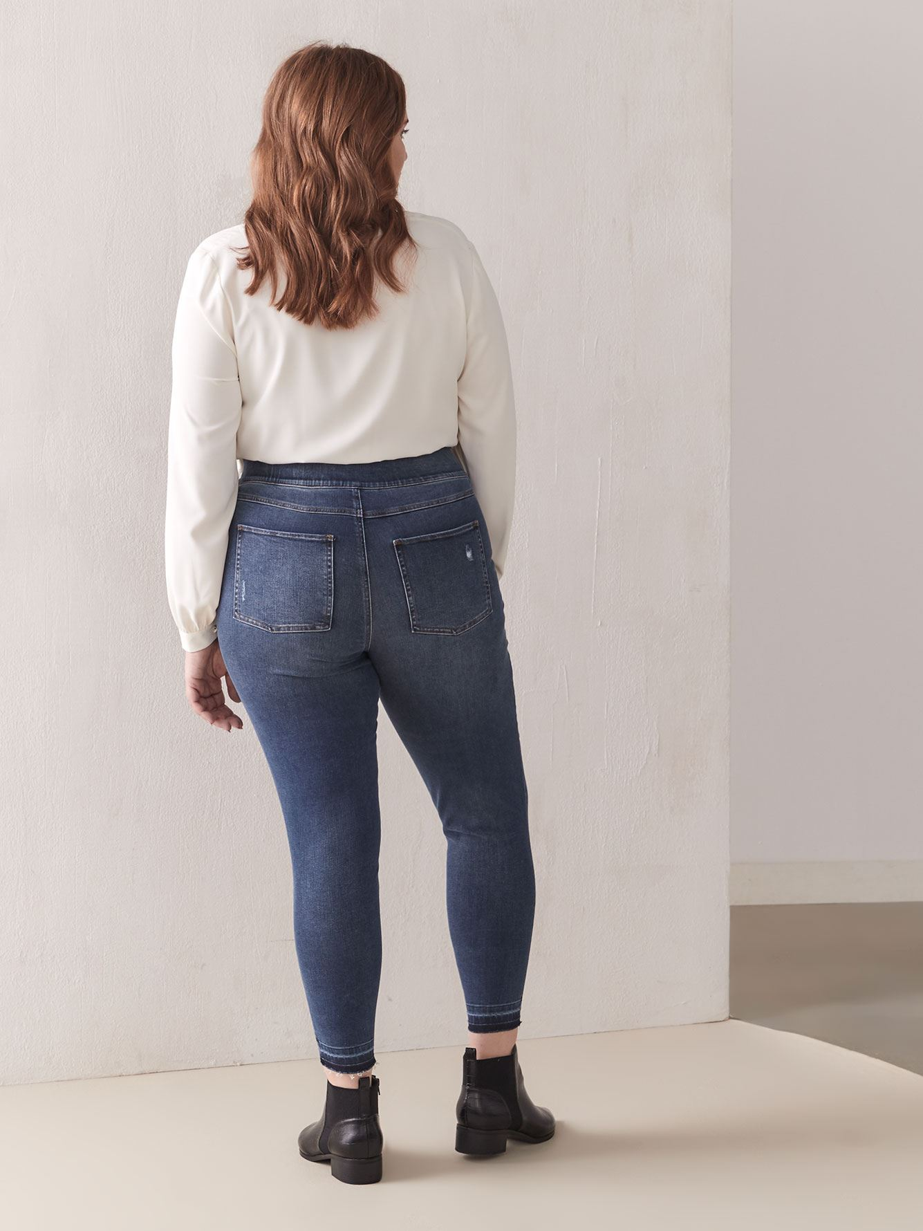 High Waist Denim Leggings - Spanx