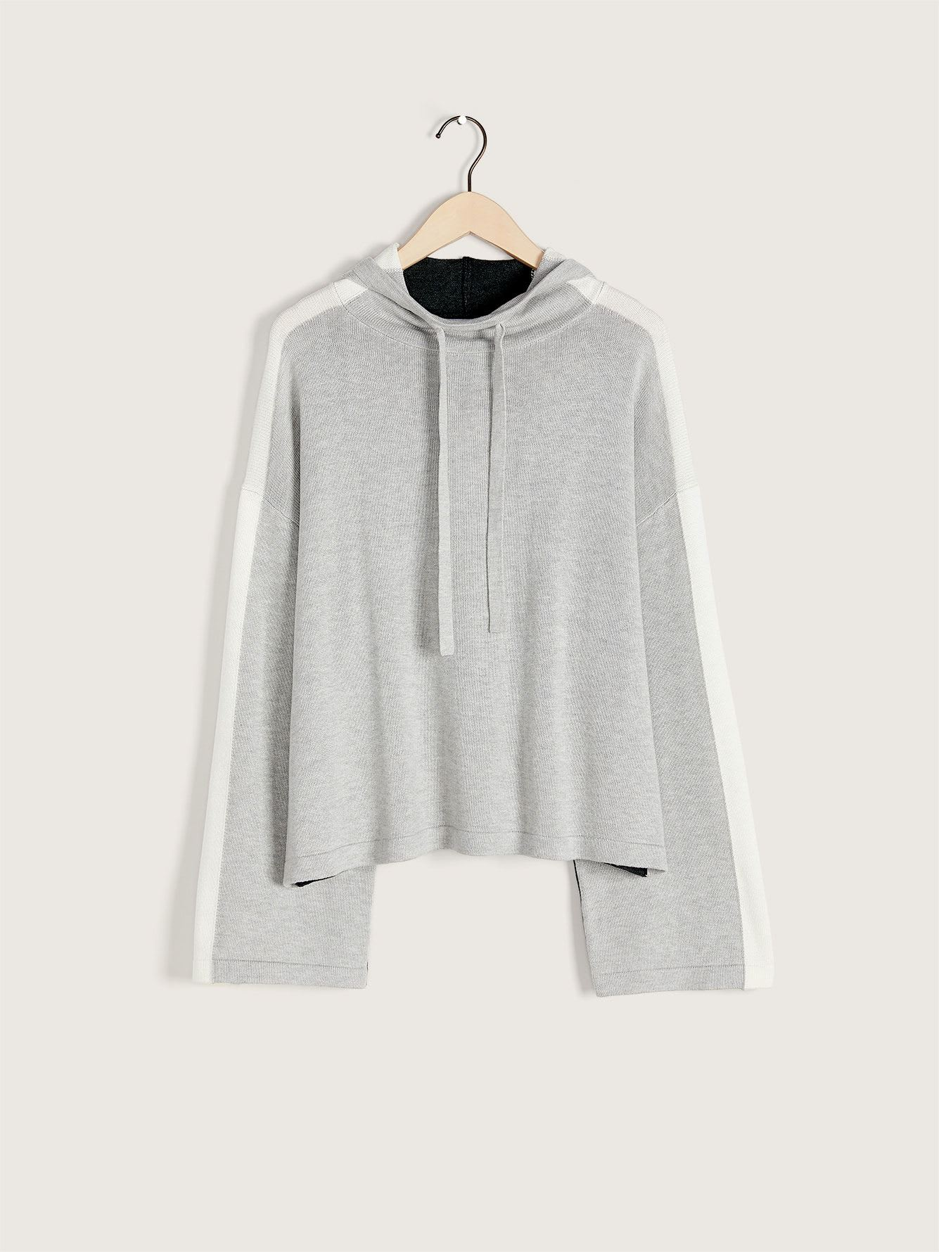 Color-Block Hooded Sweater - ActiveZone
