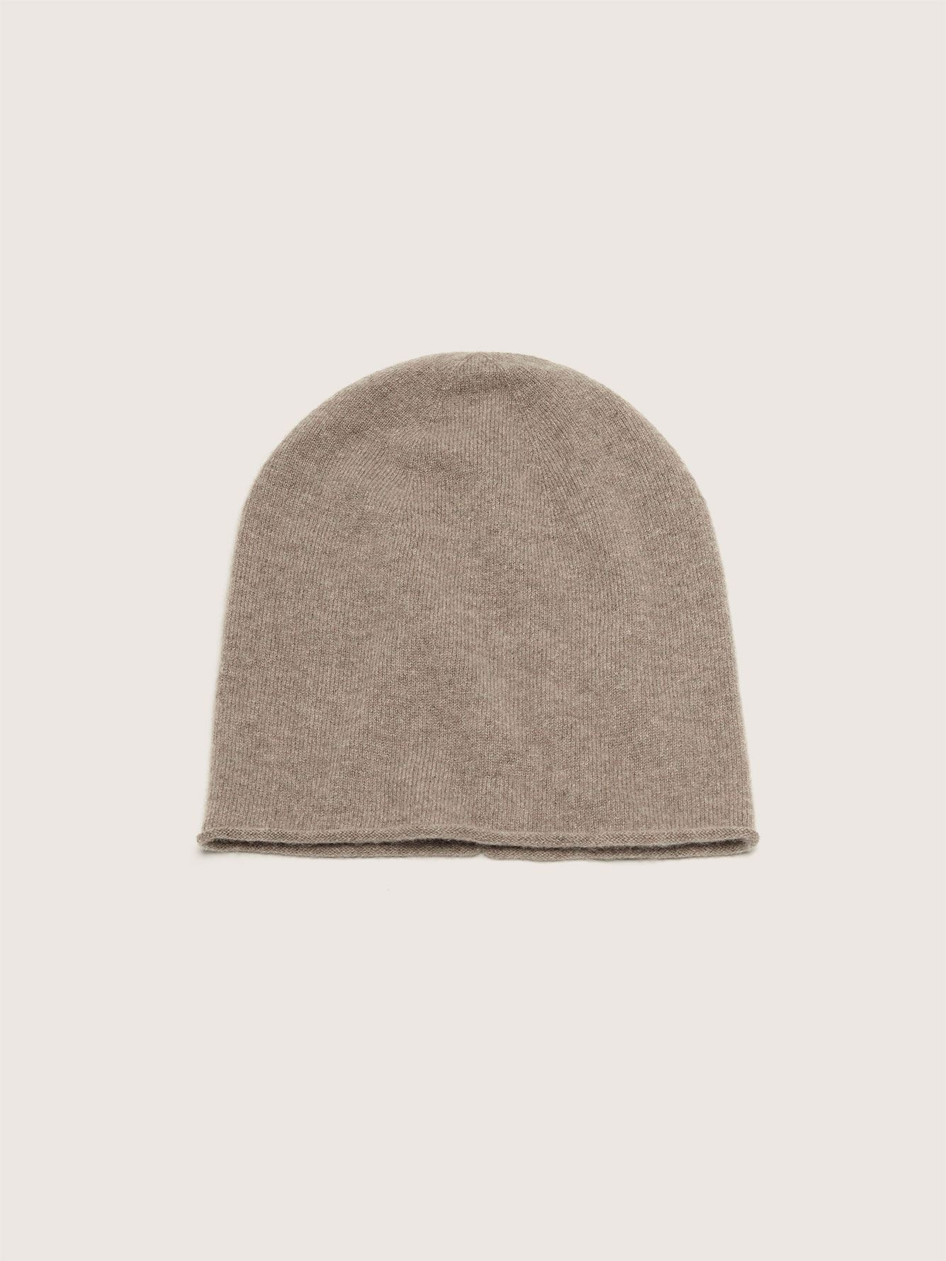 Cashmere Slouchy Beanie - Addition Elle