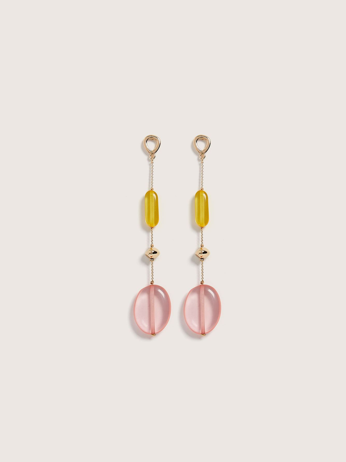 Bead Drop Earrings - Addition Elle