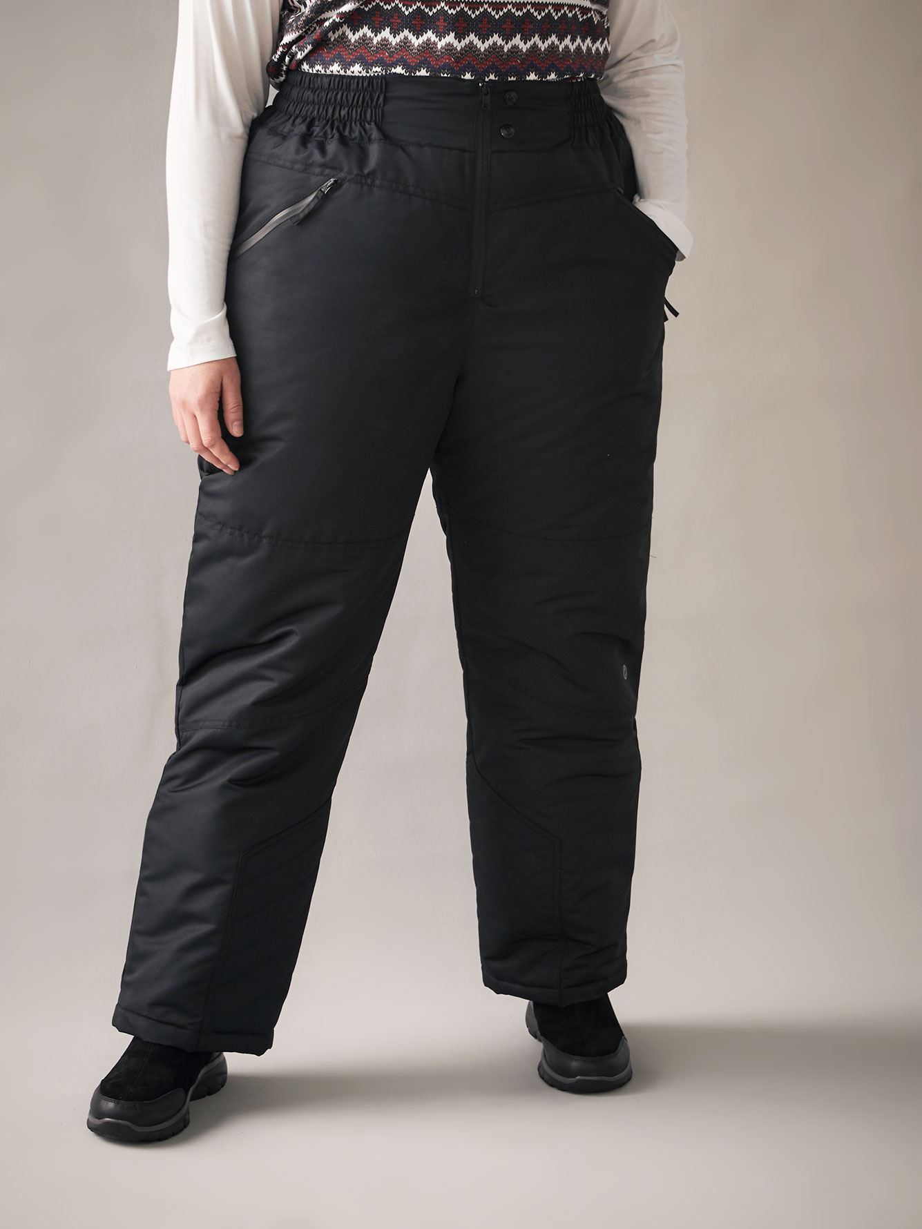 Petite, Black Ski Pants - ActiveZone