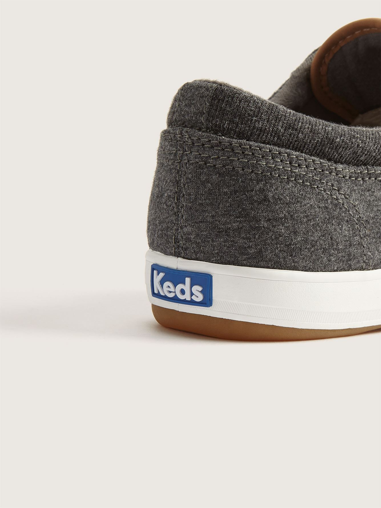 Wide Slip-On Heathered Sneakers - Keds