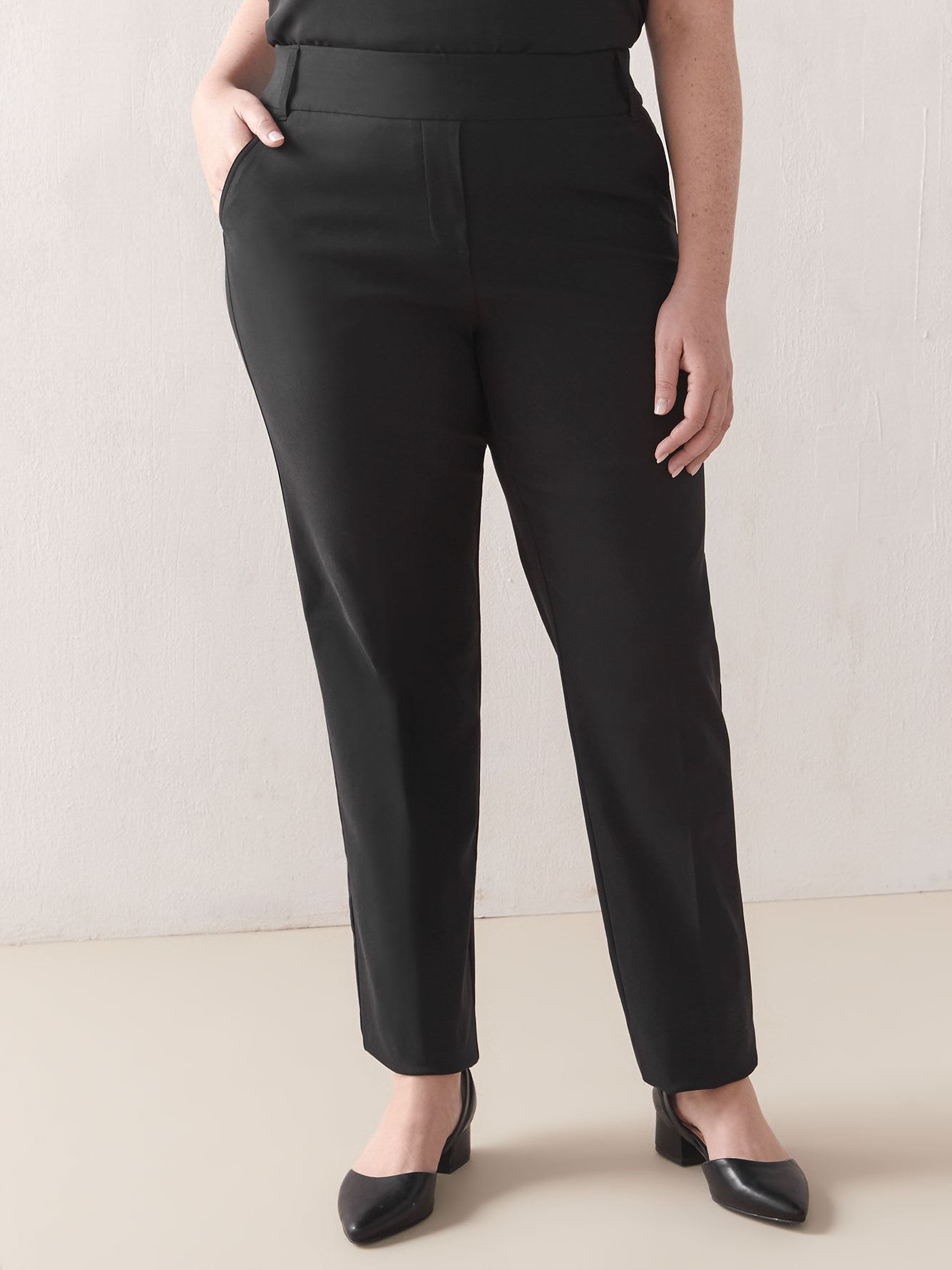 Tall, Black Straight-Leg Pant - In Every Story