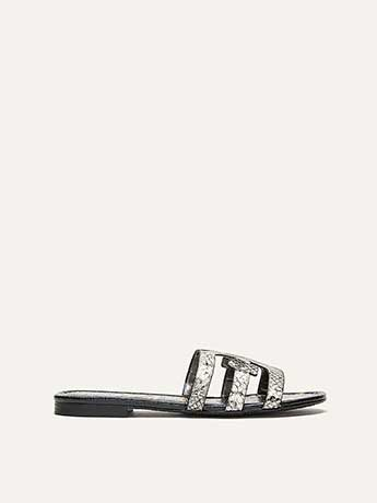Wide Leather Sandals - Sam Edelman